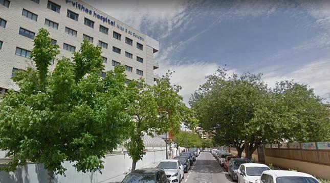 Exterior del hospital Vithas Valencia 9 de Octubre.