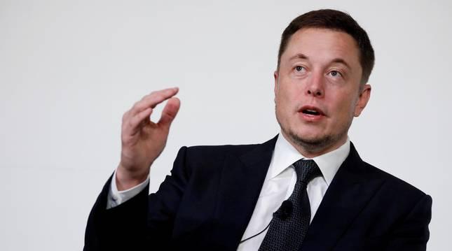 Foto de Elon Musk.