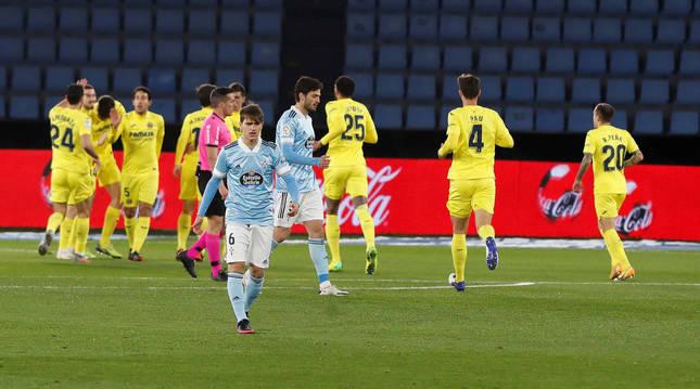 El Villarreal arrolla al Celta en Balaídos