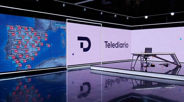 Los informativos de TVE estrenan nueva imagen.