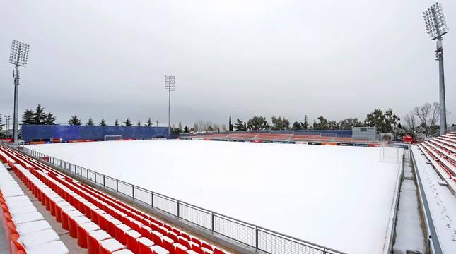 Estadio de entrenamiento del Atlético de Madrid.