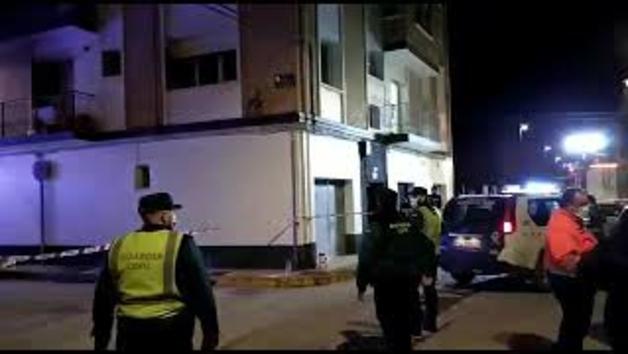 Vídeo del incendio de una vivienda en Marcilla
