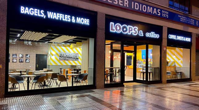 La franquicia navarra Loops & Coffee inaugura su primera cafetería en Pamplona