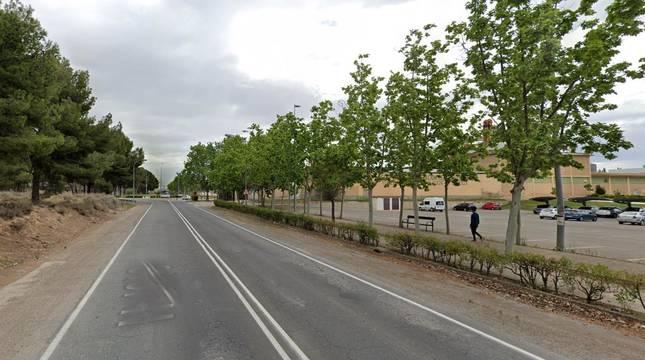 Carretera de Tarazona (Tudela).