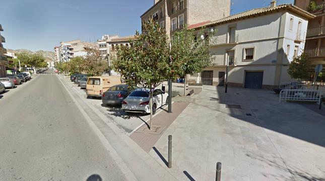 Vista de la localidad de Tamarite de Litera (Huesca).