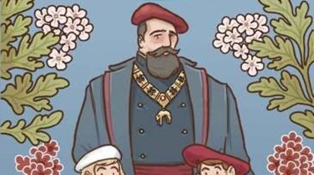 Portada del libro 'El toisón de Don Carlos', publicado por el Museo del Carlismo de Estella (Navarra).