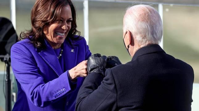 Fotos de la toma de posesión de Joe Biden como presidente de EE UU