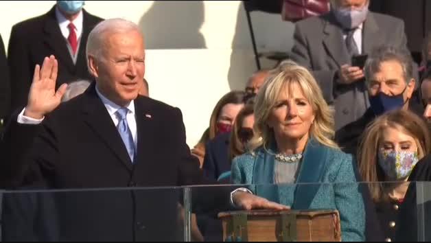 Joe Biden ya es el 46 presidente de los Estados Unidos