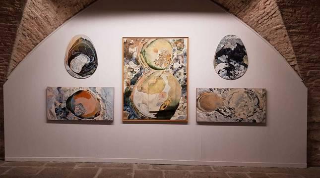 Exposición de Javier Esquíroz en el Pabellón de Mixtos de la Ciudadela.