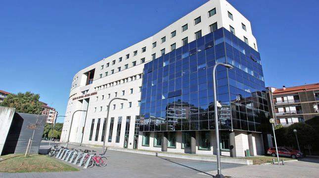 Sede del Tribunal Superior de Justicia de Navarra.
