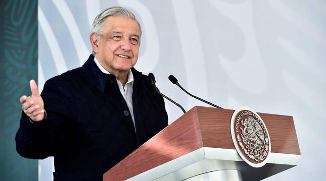 Foto del presidente de México, Andrés Manuel López Obrador.