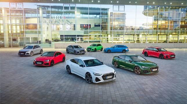 Gama RS de Audi