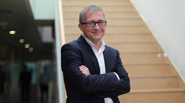 Francisco Fernández Nistal ha asumido el liderazgo de la Corporación Pública Empresarial de Navarra desde el pasado mes de octubre.