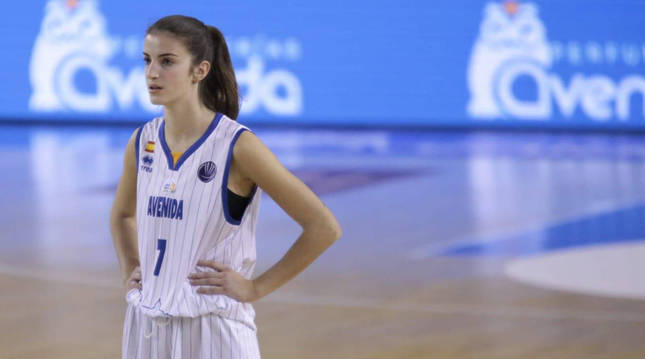 La jugadora navarra Paula Suárez Azcárate.