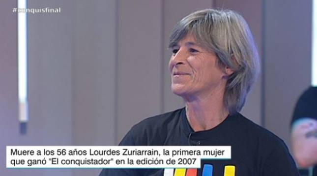 Fallece Lourdes Zuriarrain, ganadora de 'El Conquis' en 2007