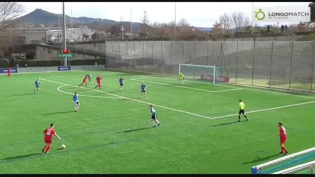 Golazo de Juan Sánchez Iriarte en el Huarte-Peña Sport (Liga Nacional Juvenil)