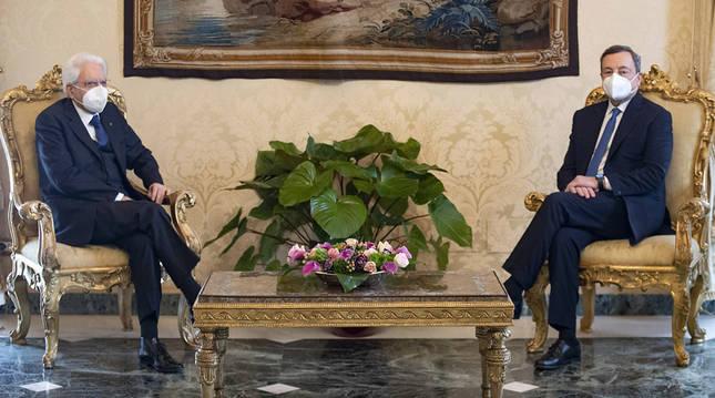 Mario Draghi acepta el encargo de formar Gobierno en Italia