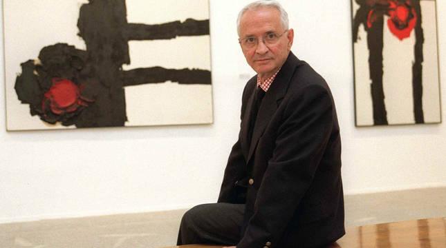 Luis Feito, en una imagen de archivo.