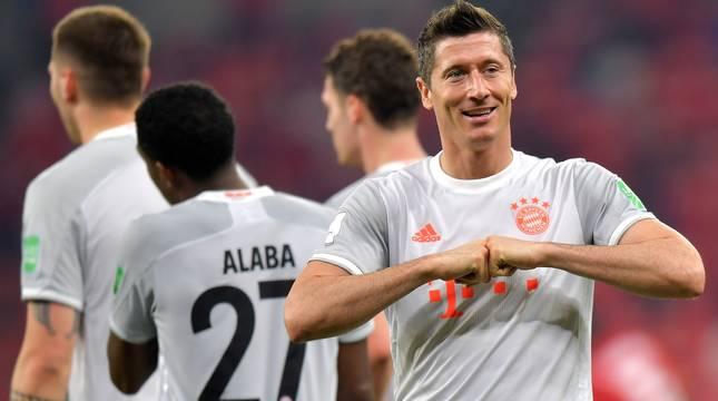 Un doblete de Lewandowski pone al Bayern en la final del Mundial de Clubes