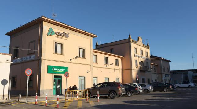 Estación de tren de Tudela (Navarra)