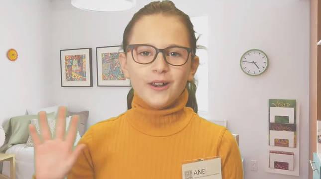 Una de las alumnas participantes en el proyecto.