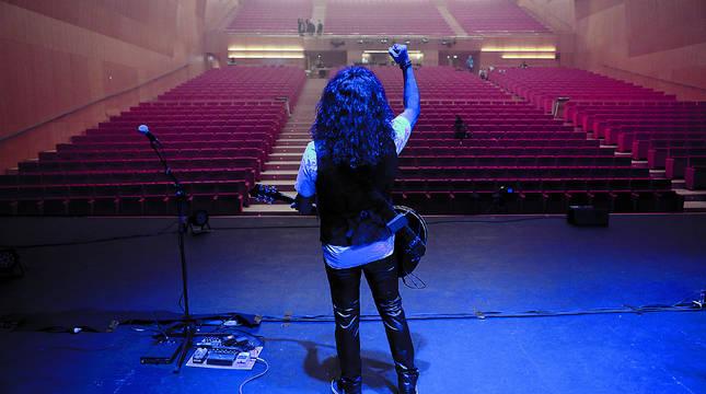 Concierto de Razkin en un Baluarte vacío, retransmitido en streaming el pasado junio.