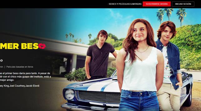 Mi primer beso, una comedia adolescente que hará las delicias de los amantes de las películas románticas.