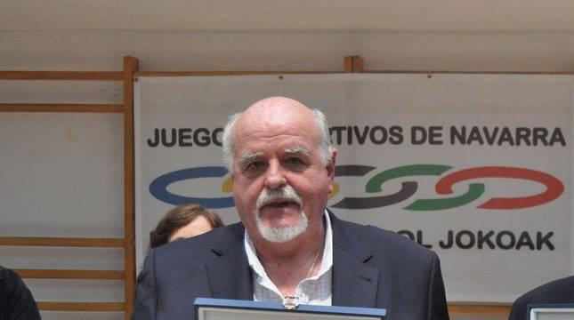 Fallece Antonio Ros, árbitro y vicepresidente de la Federación Navarra de Baloncesto