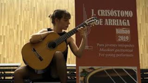 Vídeo de la actuación de Nekane Ibero en el Concurso Arriaga 2019