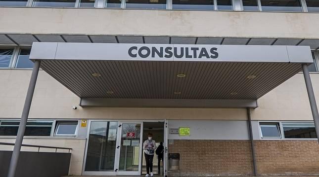 La espera en el hospital de Estella se duplica desde el inicio de la pandemia