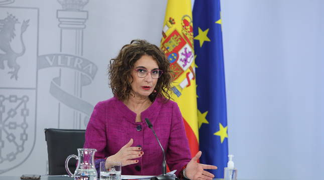 La portavoz del Ejecutivo, María Jesús Montero.