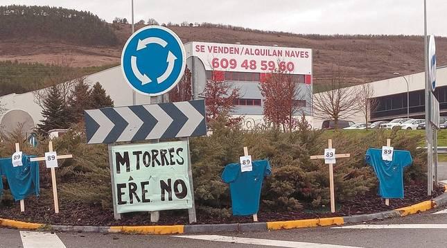 El comité de MTorres pide al Gobierno foral que se implique
