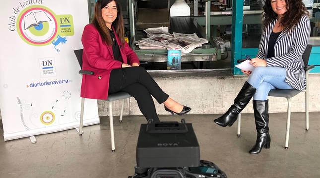 Encuentro del Club de Lectura de Diario de Navarra con Marta Borruel