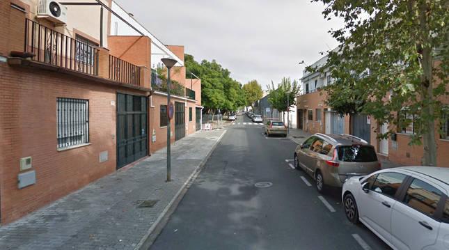 Calle Mejillón (Sevilla), donde tuvo lugar la reyerta.