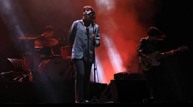 Un concierto anterior de Belako en el Navarra Arena de Pamplona.