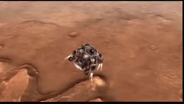 Tras siete minutos de terror, la Persevérence se posaba con éxito en Marte