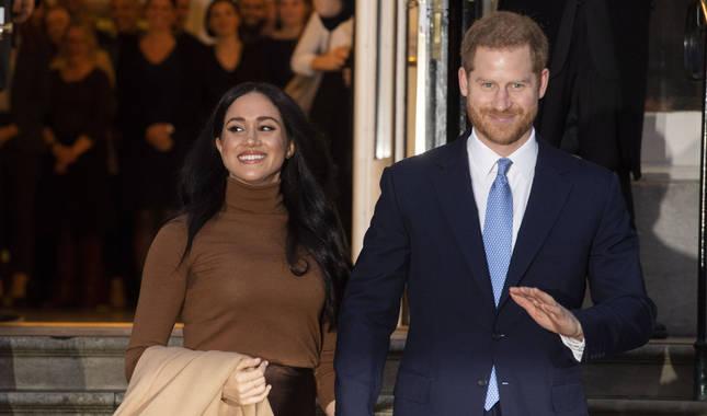 Enrique y Meghan, duques de Sussex.