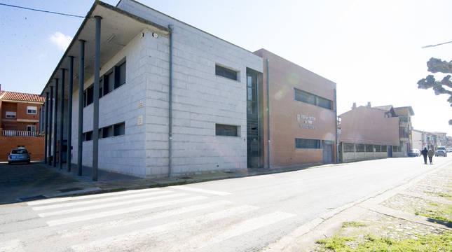 Vista de la casa de cultura Antonio Moreno de Funes que se ampliará entre este año y el próximo.