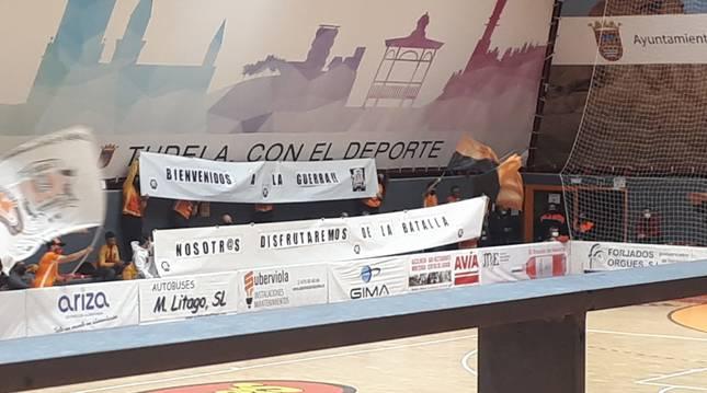 El recibimiento del Ciudad de Tudela al Osasuna Magna