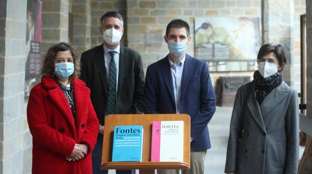 'Fontes' publica un libro con 38 aportaciones a la lingüística vasca