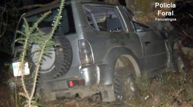Fallece un hombre de 81 de Goizueta tras chocar contra un árbol