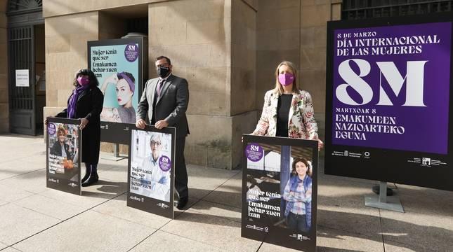 Presentación de la campaña 'Mujer tenía que ser'.