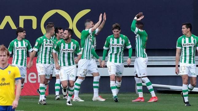 Foto del partido entre Cádiz y Betis de LaLiga Santander (0-1).