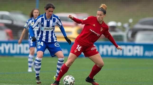 Foto del partido entre el Deportivo Alavés y Osasuna Femenino