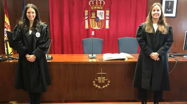 Toman posesión dos nuevas juezas destinadas en Pamplona y Aoiz