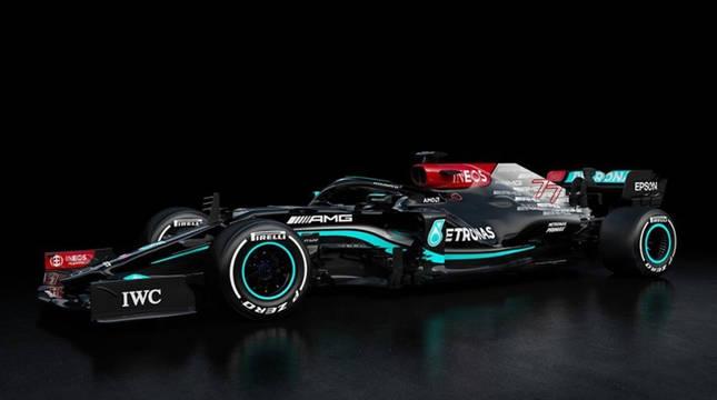 Imagen del Mercedes-AMG F1 W12 E Performance