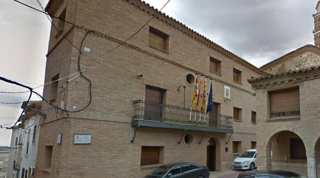 Ayuntamiento de la localidad de Fuendejalón (Zaragoza).