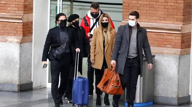 Chenoa, Bustamante, Tenorio... despiden en Barcelona al extriunfito