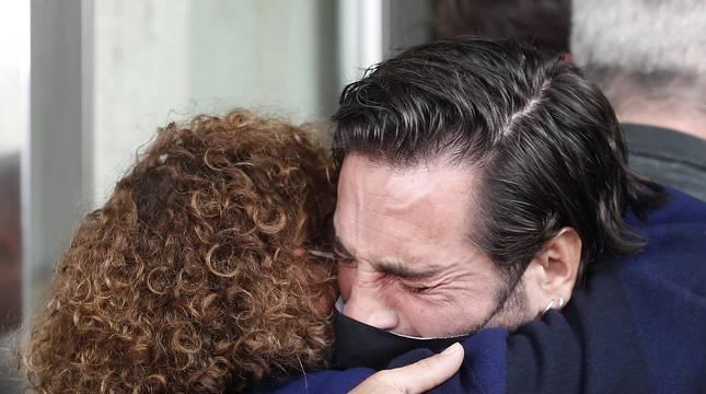 Fotos del último adiós a Álex Casademunt en el tanatorio de Mataró
