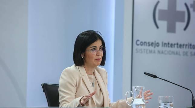 Foto de Carolina Darias, ministra de Sanidad.